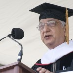 Azim Premji P &#039;99 received a Doctor of Humane Letters during the ceremony.