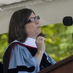 Anna Quindlen P&#039;07 delivered the commencement address.