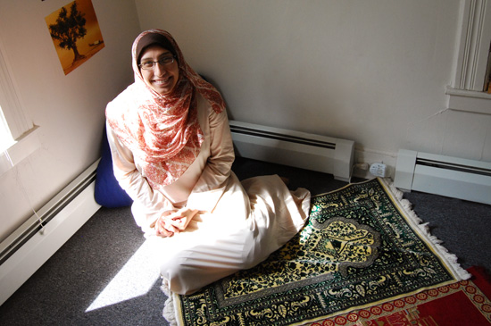 Marwa Saied Aly joined the Wesleyan community as Muslim Chaplain. She will be spending part of her time at Wesleyan and part of her time as a Trinity College chaplain.