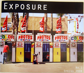 The student-run Exposure magazine is supported by Wesleyan and local sponsors.
