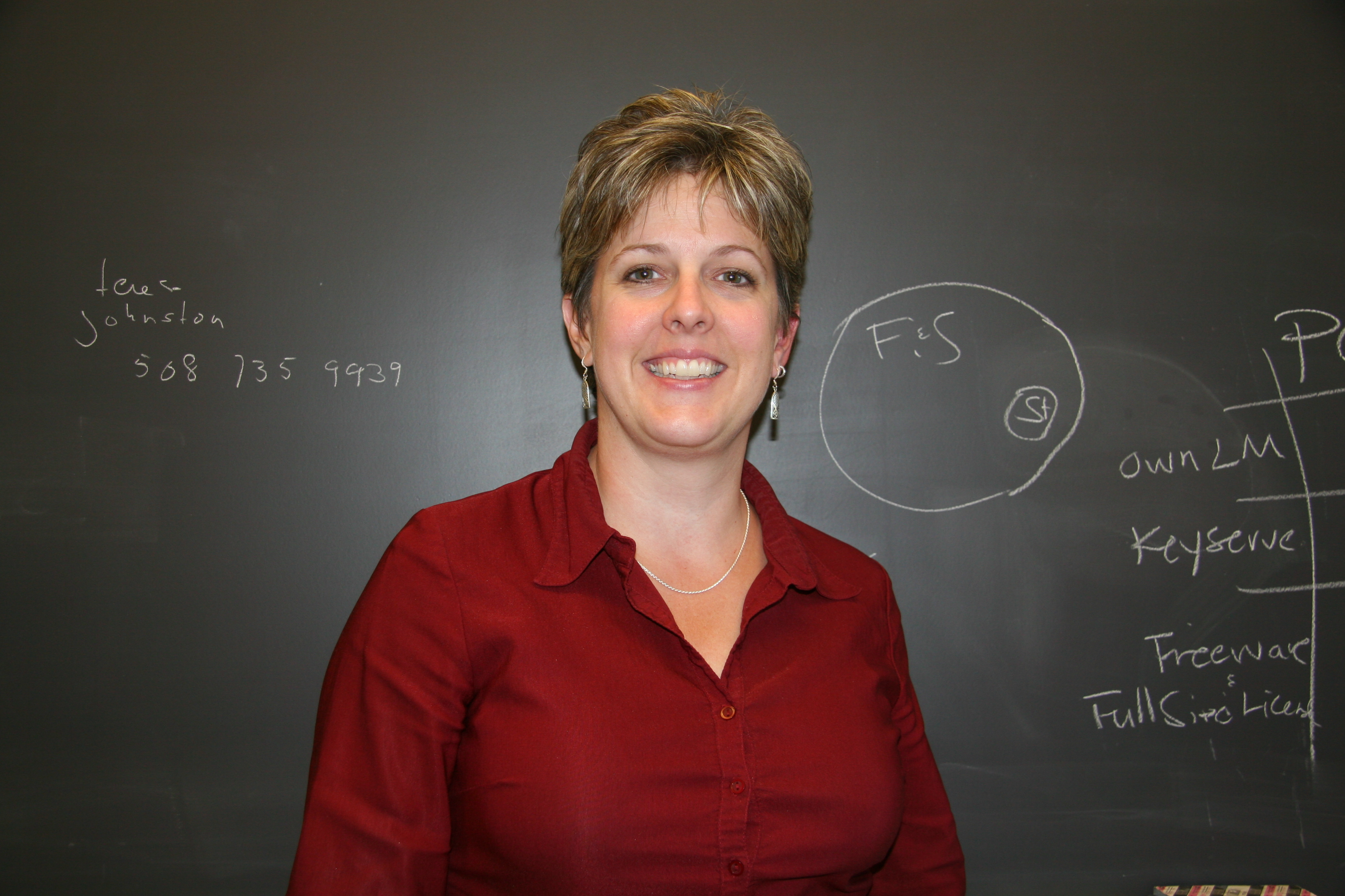 Karen Warren is the new director of user and technical services.