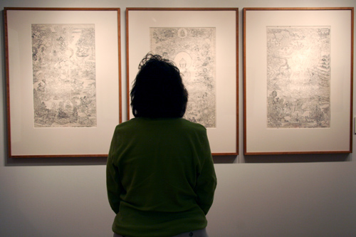 "Buddhist Prints from the Derge Parkhang"" is on display at the Mansfield Freeman Center for East Asian Studies Gallery through Dec. 7.  The Derge Parkhang is one of the foremost cultural, social, religious, and historical institutions in Tibet."