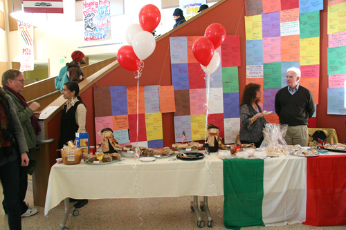 Wesleyan hosted an international bake sale in the Usdan University Center Nov. 20 to benefit the Middlesex United Way.