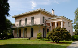 The historical Alsop House - now the Davison Art Center -