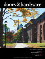 Wesleyan is featured in the Jan. 2009 issue of <i>Doors & Hardware</i>magazine.