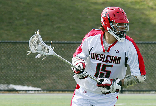 Russ Follansbee '09 scored three goals and dished off three assists.