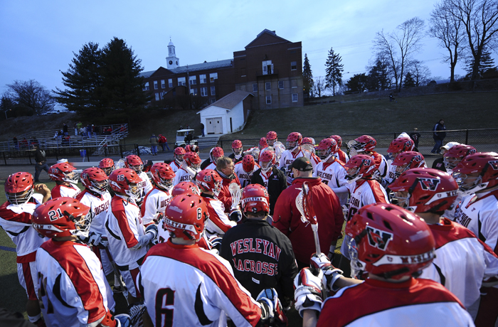 Wesleyan defeated NESCAC rival Montclair State during a home game March 16.