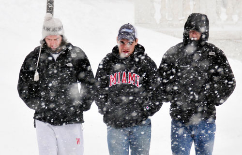 Other students sported their thoughts on an ideal winter get-a-way. (Photos by Olivia Bartlett)