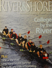 Wesleyan is featured in River and Shore.