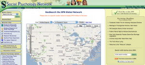 "Social Psychology Network now includes a Google ""mash-up"" in which the global network of SPN profiles can be searched geographically."