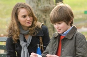 Natalie Portman and Charlie Tahan in Love and Other Impossible Pursuits, based on a novel by Ayelet Waldman '86.