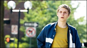 Michael Cera in Youth in Revolt, directed by Miguel Arteta '89.