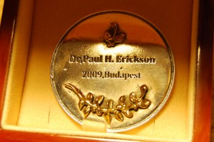 Erickson's award. 