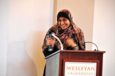 Muslim Chaplain Marwa Aly speaks about fasting.