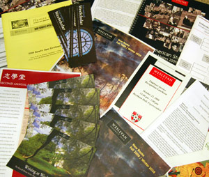 Samples of Cardinal Print and Copy publications.