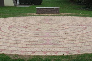 Labyrinth mimics the 808-year-old Chartres Cathedral labyrinth in France.