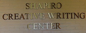 The Shapiro Creative Writing Center is located on the third floor.