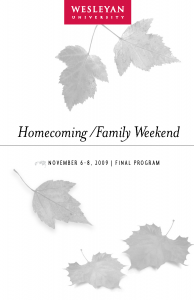 Dena Matthews helped create the Homecoming/Family Weekend program.
