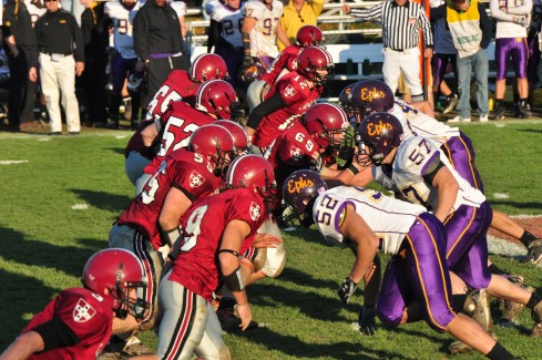 More than 5,000 fans attended the Homecoming football game against Williams Nov. 7.