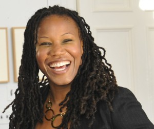 Majora Carter '88 delivered the keynote address at the Dwight L. Greene Symposium Nov. 7.
