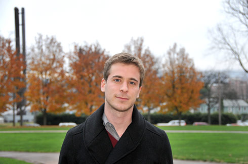 Russell Perkins '09 was awarded a 2010 Rhodes Scholarship.