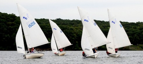 The Wesleyan Sailing Club competed in 25 regattas this year, finishing four ranks above Williams College.