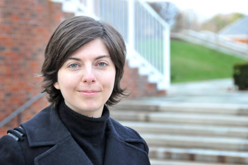 "Courtney Fullilove, assistant professor of history, will teach  a course on the history of drugs and medicines, and ""Confidence and Panic in 19th Century U.S. Economic Life"" during the spring 2010 semester. (Photo by Stefan Weinberger '10)"
