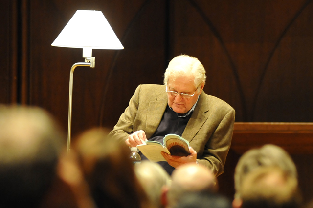 Ashbery has received a MacArthur Fellowship, two Guggenheims, the Pulitzer Prize, the National Book Award, the Bollingen Prize, and the International Griffin Poetry Prize. He also is renowned for his art criticism and his translations from the French.