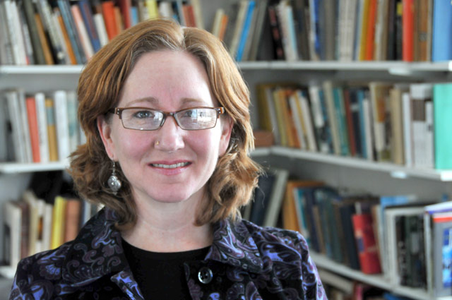 Gillian Goslinga, assistant professor of anthropology, assistant professor of science in society, has an array of research specialties including reproductive technologies, kinship, spirit possession, shamanism, indigenous healing, ritual, body/knowledge/power, critical medical anthropology, feminist science studies, postcolonial theory and critical philosophy, life history methods and  feminist ethnography. (Photo by Stefan Weinberger '10)