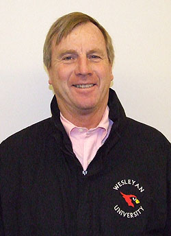 Assistant men's lacrosse team coach Rick McCarthy is a past-president of the New England Intercollegiate Lacrosse Association.