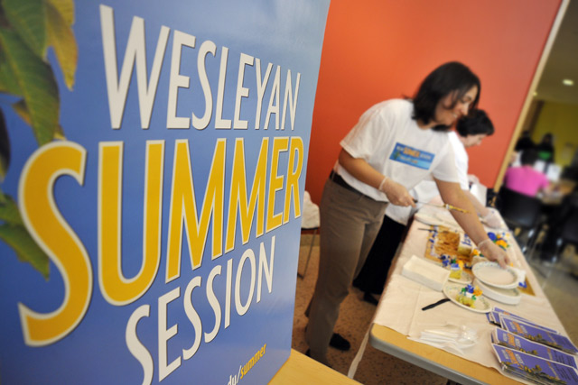 Summer Session is open to all students who feel they have the academic qualifications and stamina to complete an intellectually challenging course in a compressed schedule.