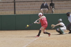 Talia Bernstein '11 helped the Cardinals win against Babson.
