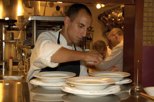 Michael Leviton '88 was nominated for James Beard Best Chef Northeast. (Photo by Bill Burkhart)