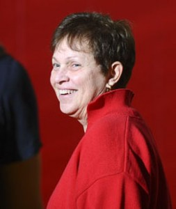 Gale Lackey, head coach of women's volleyball, will be inducted into the Connecticut Women's Volleyball Hall of Fame.