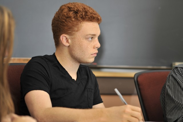 Paul McCallion '15 and his peers learned about the historical and cultural studies of the naming and treatment of psychological disorders.  