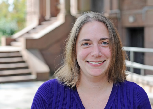 Assistant Professor Barbara Juhasz is interested in understanding how words produce a certain sensory experience when read.