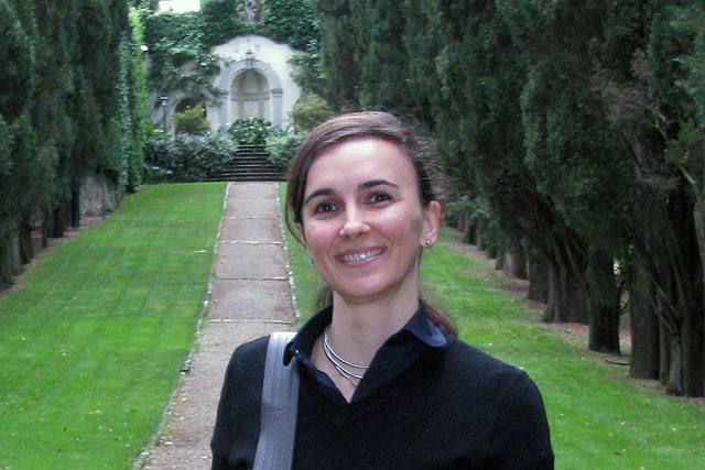 Nadja Aksamija, associate professor of art history, is writing a book on the Bolognese villa in the age of Cardinal Gabriele Paleotti at Villa I Tatti in Florence, Italy.