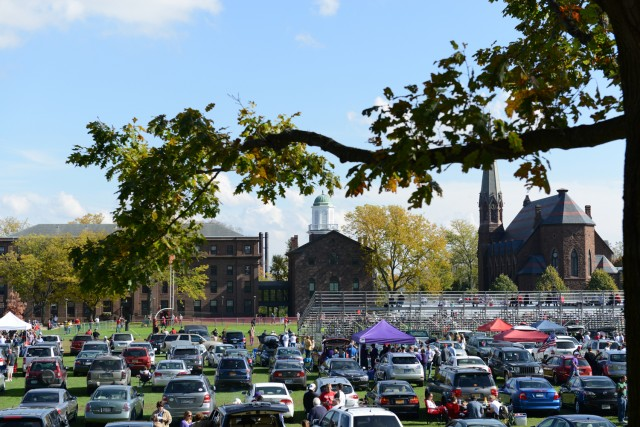 Tailgating for Wesleyan athletic events began at 10 a.m. Oct. 20.