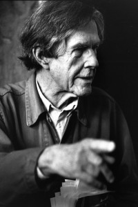 John Cage in 1988. (Photo courtesy of Special Collections and Archives)