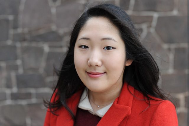Art history major Claire Choi &#039;13 co-founded PYXIS, a new online and print project that aims to share and celebrate student academic writing in the humanities at Wesleyan. She also plays Korean drums and learned French and German at Wesleyan.