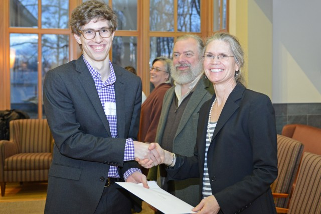 English major Alex Wilkinson '13 pursued and fulfilled the requirements for the Writing Certificate. He is currently working on a critical English thesis that examines how Faulkner's characters mediate their own personal histories through a communally inherited Southern past. He served for three semesters as a writing tutor, and is currently an executive editor of The Argus, and Editor-in-Chief of The Argus Magazine.