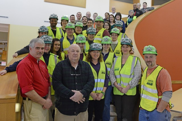 Wesleyan's Campus Community Emergency Response Team (C-CERT) gathered on Jan. 11 to welcome 18 new members and recite an oath led by Middletown's Office of Emergency Management officers. During a 20-hour training session held Jan. 9-11, the new C-CERT members learned to assist first responders, provide immediate assistance to victims, organize volunteers at a disaster site and improve the safety of the Wesleyan community.