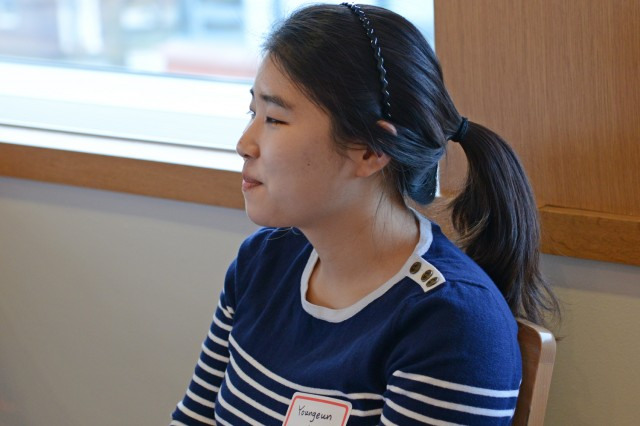 Youngeun Cho is a foreign language teaching assistant in the Language Resource Center.