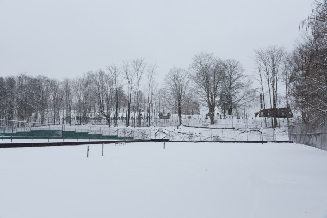 The Wesleyan Tennis Courts on Jan. 16.