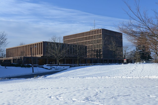 The Science Library and Exley Science Center on Jan. 3.