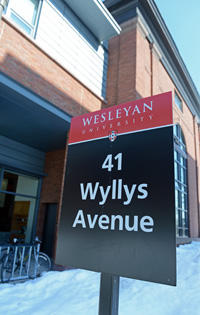In January 2012, the building reopened, housing the College of Letters, Art History Department and the Wesleyan Career Center.