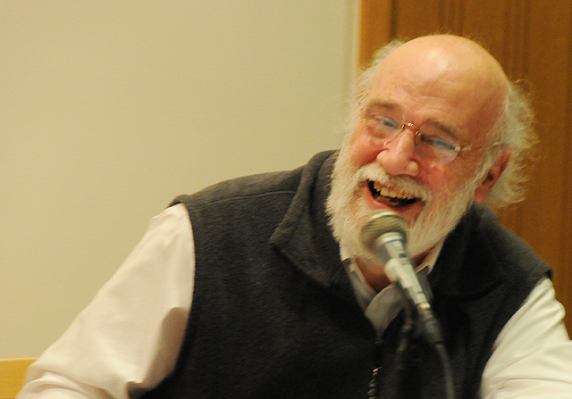 A faculty panel, which included Professor of Psychology Robert Steele examined the meaning of effective allyship within the Wesleyan community and beyond.