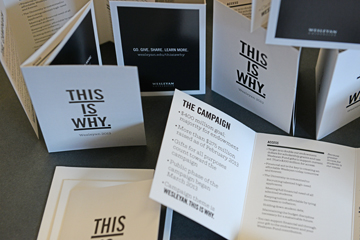 """THIS IS WHY"" is the theme of Wesleyan's new campaign."