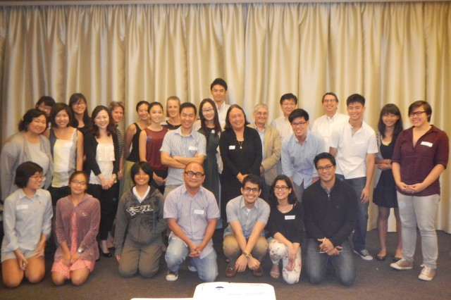 Also in March, Jacobsen met with alumni and parents in Singapore. In April, she will speak to alumni and parents in Cape Town, South Africa. Jacobsen was the recipient of the Binswanger Prize for Excellence in Teaching in 2007.