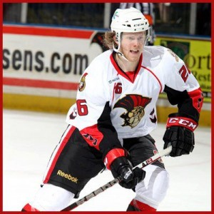 Nick Craven '13 signed an amateur try-out contract with the Binghamton Senators in March.